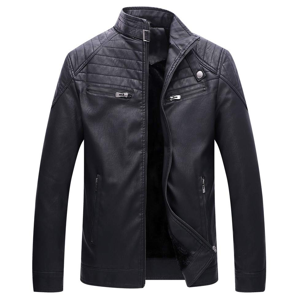 Pandaie-Mens Product OUTERWEAR メンズ XXXXX-Large ブラック B07K7KGVSD, フッツシ fe64d53e