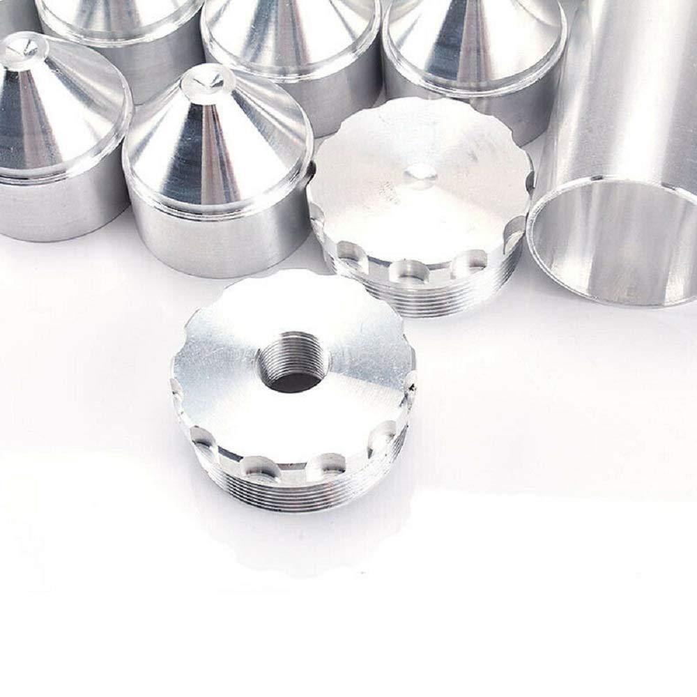 4X10 Solvente per carburante in alluminio Fifter per NAPA 4003 WIX 24003 1.70Tubo per pulizia olio solvente per auto 5//8-24,1-3 Nero
