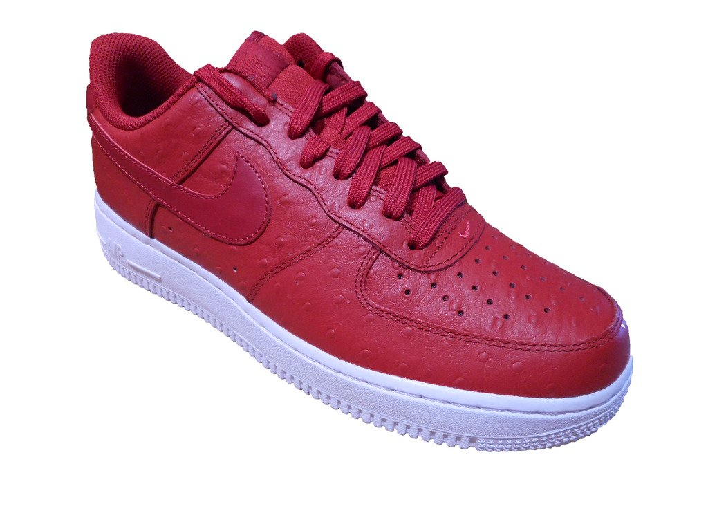 new product 7c567 569fc Galleon - Nike Men s Air Force 1 07 LV8, GYM RED GYM RED-WHITE, 10.5 M US