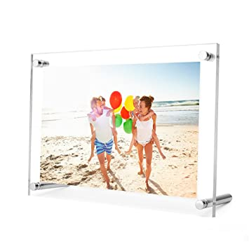 Amazoncom Twing 5 X 7 Acrylic Picture Frame Clear Desktop