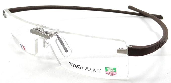 Tag Heuer Panorama Rx Eyeglasses Frames Th 3502 002 59x00 Silver ...