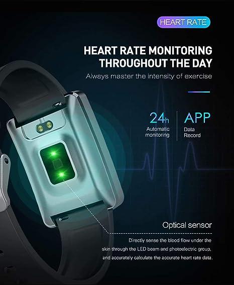 Amazon.com: Monitor de actividad física, IP68, resistente al ...