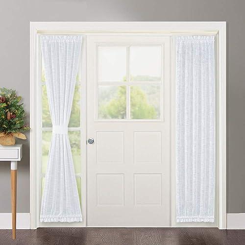 Door Window Curtains Amazon Com: Front Door Window Curtain: Amazon.com