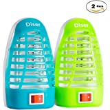 Bug Zapper ,Mosquito Killer Lamp, Electronic Insect Killer,mosquito trap,Eliminates Most Flying Pests,Night Lamp!Killing Mosquitoes(2 Pack)