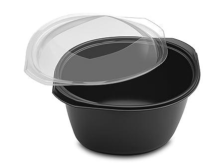 GUILLIN wok2301np cartón Caja cálido con Fondo y Tapa, plástico ...