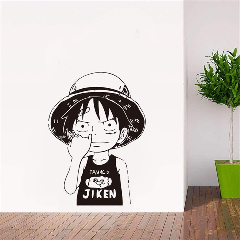 Dibujos animados One Piece Lu Fei Vinilo Tatuajes de pared ...
