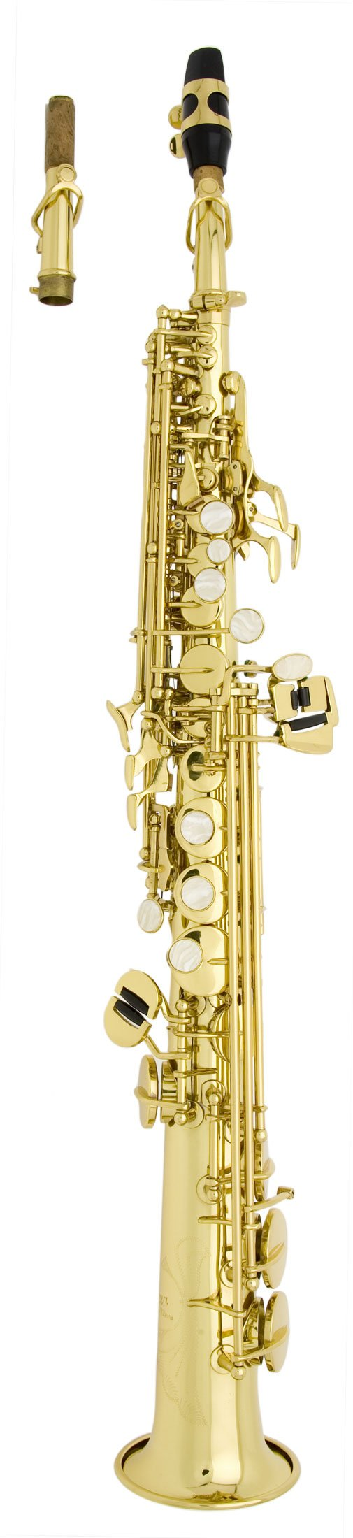 Antigua Winds X/P SS1202LQ Bb Soprano Saxophone