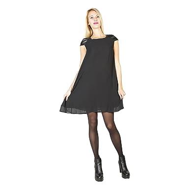 519096ead73a Abito corto Poliestere Donna SILVIAN HEACH  Amazon.it  Abbigliamento
