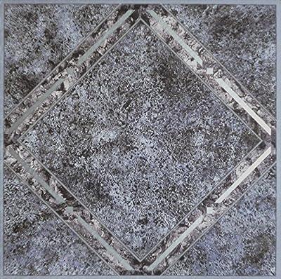 Achim Imports FTVGM33445 Tivoli Metallic Marble Diamond 12x12 Self Adhesive Vinyl Floor Tiles/45 Sq Ft, Piece