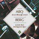 Berg: Suite Lyrique, Quatuor À Cordes