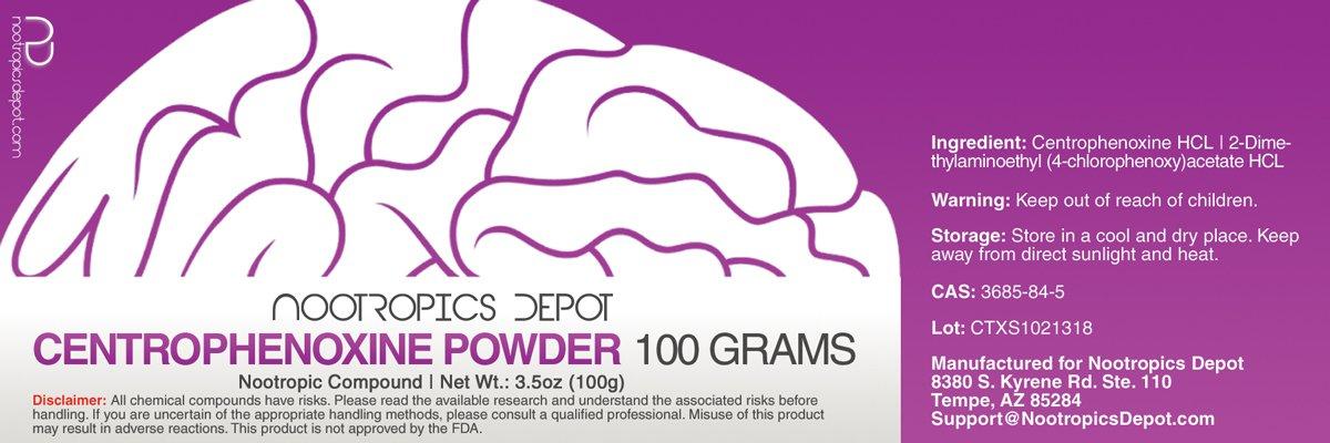 Amazon Com Centrophenoxine Powder 25 Grams Health Personal Care