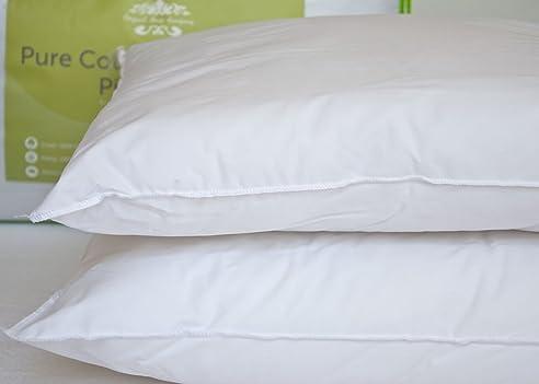High Quality 100% Reine Baumwolle Anti Allergie Kissen Paar Ideal Für Asthma Und  Neurodermitis Leidet Lancashire Betten Design