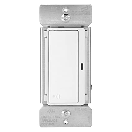 Cooper RF9501DW Light Switch Aspire Rf 4Way 15A 120V Deco Rocker - 4 Way Rocker Light Switch