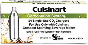 Cuisinart 24-Pack Recyclable Co2 Chargers