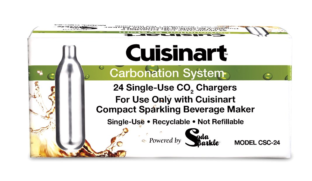 Cuisinart CSC-24 24-Pack Recyclable Co2 Chargers