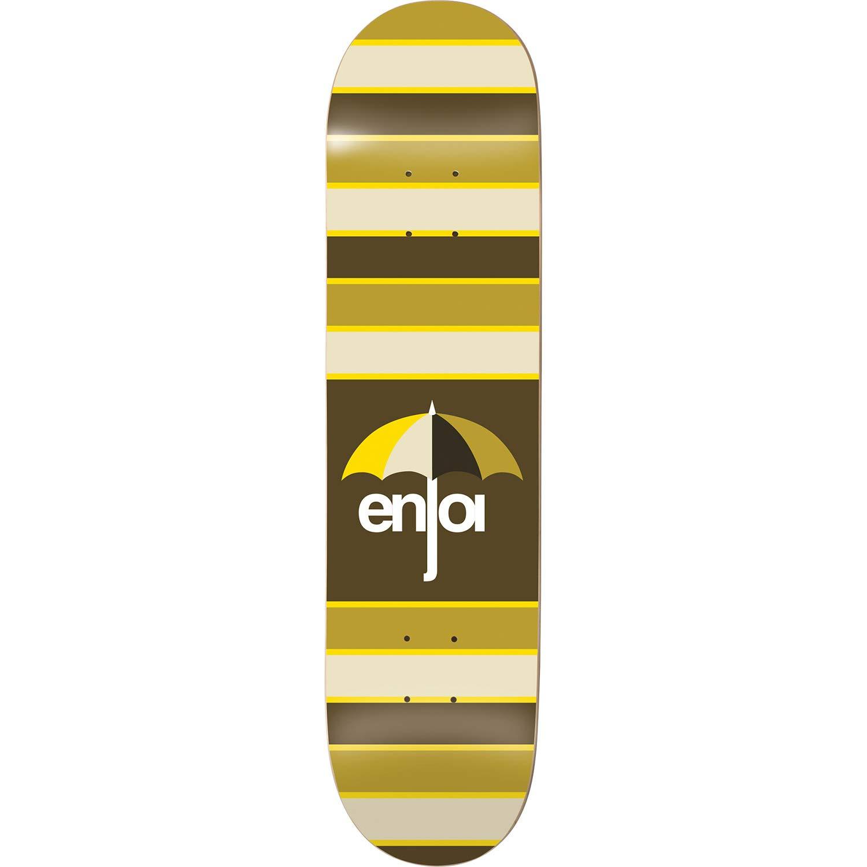 Enjoi スケートボード ストライプ Enjoi ブラウン スケートボードデッキ 31.8インチ - 8.25インチ x スケートボード 31.8インチ B07K46CVH9, コゴタチョウ:4fe0af44 --- grupocmq.com