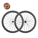 Carbon Fiber Road Bike Wheels 50mm Clincher Wheelset 700C Aero Racing Bike Wheels