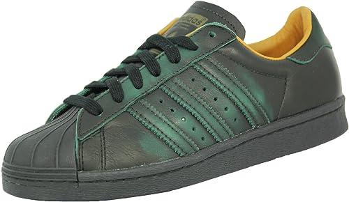 adidas superstar verte et noire