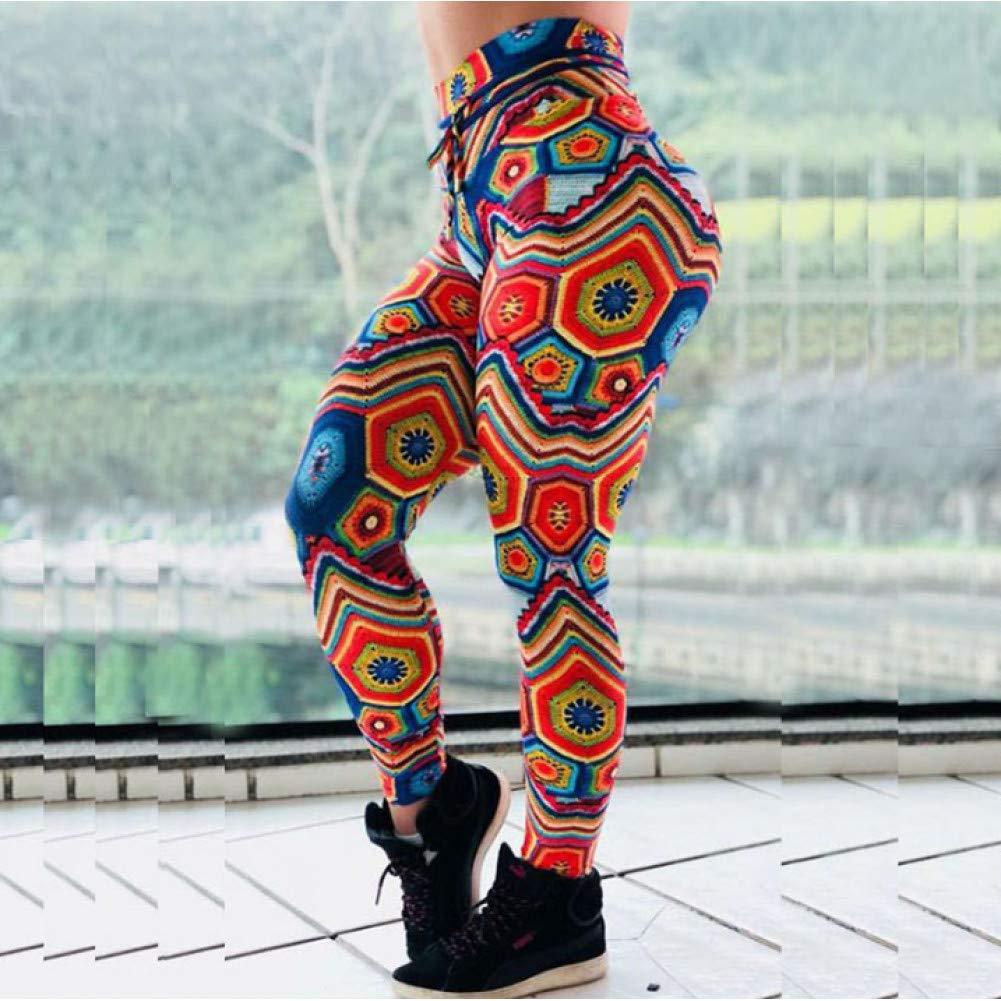 YUYOGAP Frauen-Digitaldruck-Yoga-Hosen-Turnhallen-Sport-Dünne Sitz-Hohe Taillen-Schnell Trocknende Gamaschen-Sport-Laufen Arbeiten Gamaschen Aus