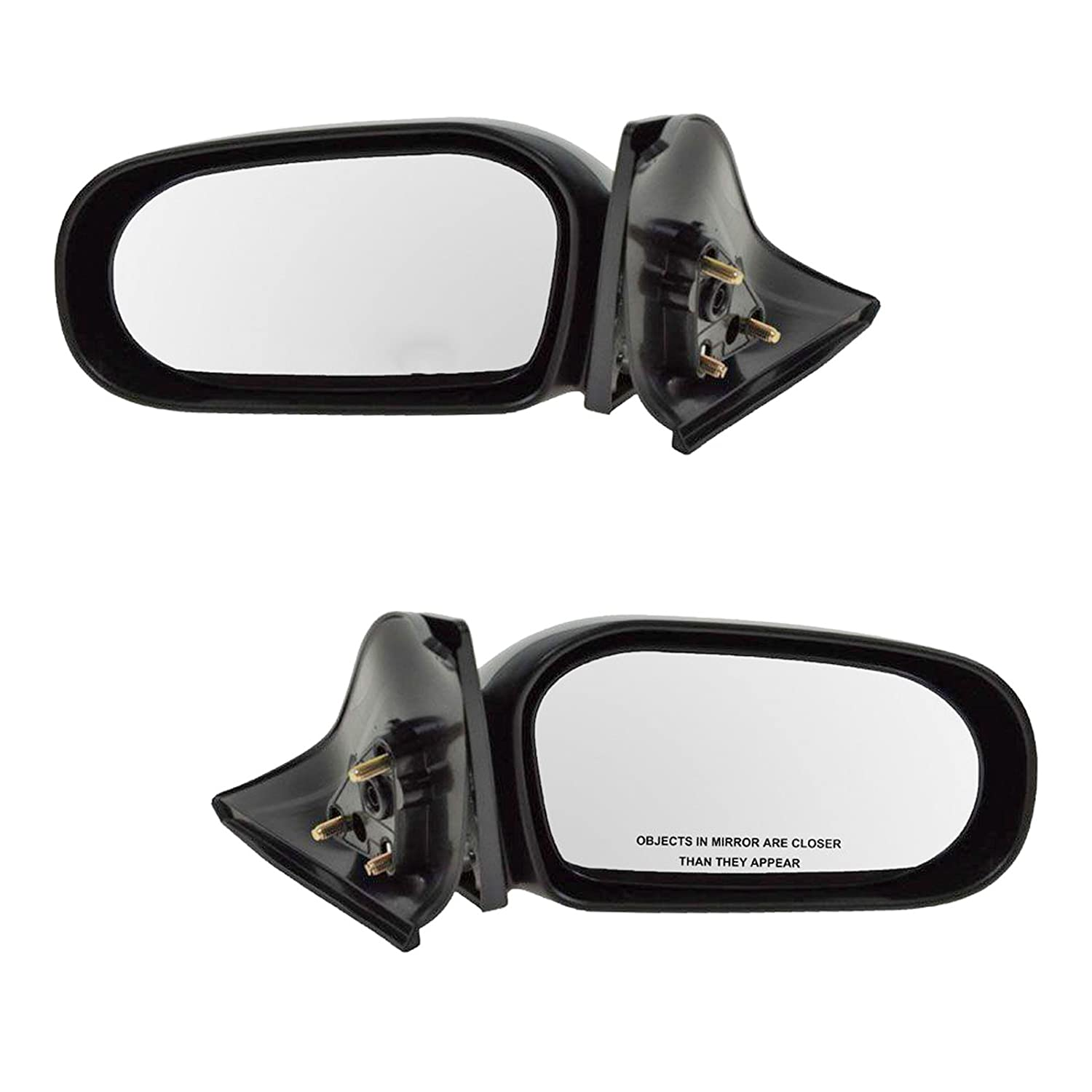 00-07 Monte Carlo Power Heat Non-Fold Rear View Mirror Left Right Side SET PAIR