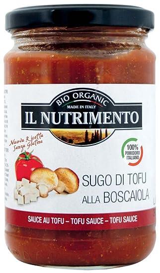 Probios Il Nutrimento Salsa de Tomate con Tofu Sin Gluten - 6 tarros