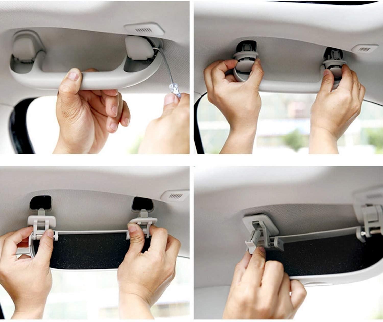 LFOTPP Car Sunglasses Holder Case Eyeglasses Storage Box for 2017-2019 Jeep Compass Gray,/Interior Accessories Autos Parts