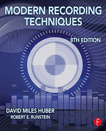 Amazon.com: Modern Recording Techniques (Audio Engineering