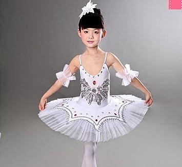Disfraz de bailarina para niñas con vestimenta de ballet ...