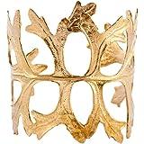 Womens Courtenay Leaf Cuff/Bracelet