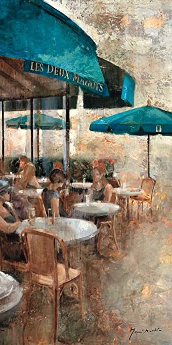 Amazon Com Terraza Cafe Les Deux Magots By Noemi Martin