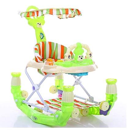 WMYJXD Andador para Bebés Plegable con Freno Andador Bebé ...