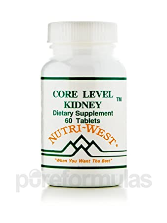 Core Level Kidney - 60 Tablets by Nutri West