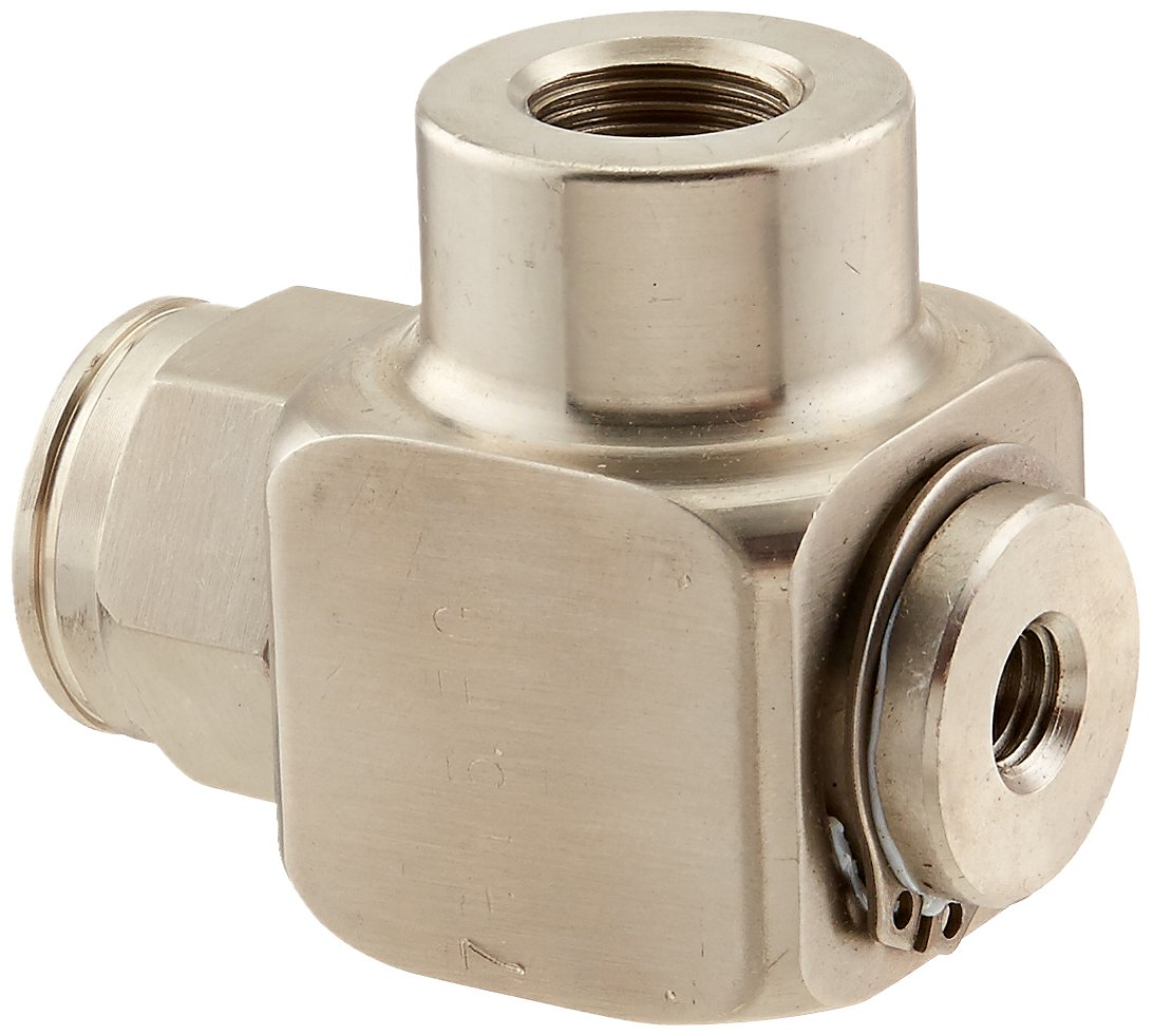 Coxreels 433-FG-SS Stainless Steel Replacement Swivel with Food Grade Seal, 3/8