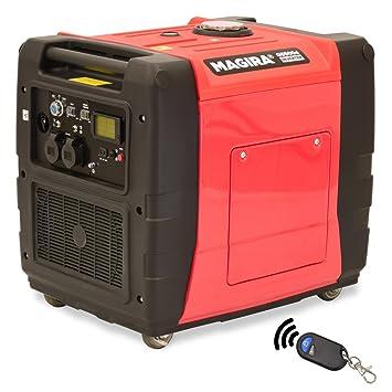 MAGIRA 5,5kW Diesel Inverter Stromerzeuger 5500W | 5,5 kW 12V 230V ...