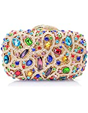 Mossmon Luxury Crystal Clutch Rhinestones Evening Bag