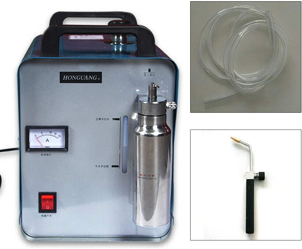 300W 75L Sauerstoff Wasserstoff Generator HHO Gasflamme Generator Polierend Poliermaschinen Acryl Polierer