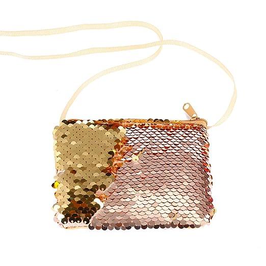 Connoworld - Fashion Glitter Reversible Sequins Coin Purse ...