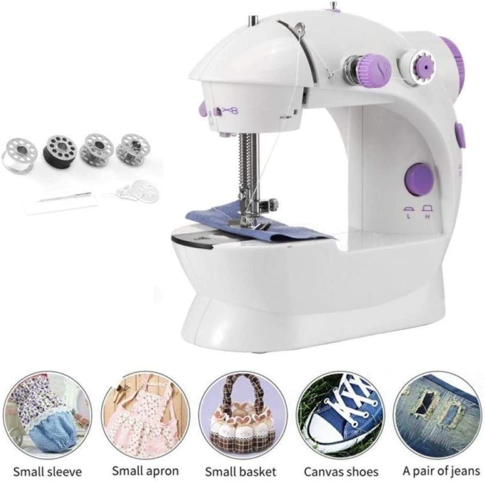 Yuaer Máquina de coser eléctrica para el hogar Máquina de coser ...