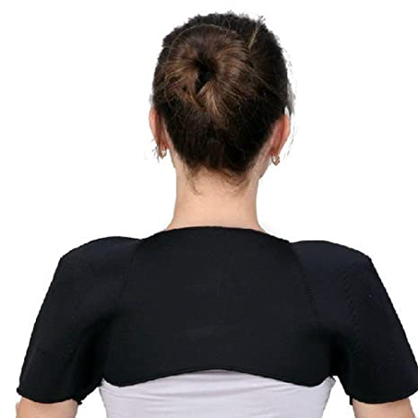 SHOULDER PAD BELT MAGNETIC THERAPY THERMAL SELF-HEATING SUPPORT PROTECTOR