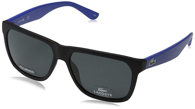 Lacoste L732Sp 002 56 Gafas de Sol, Matte Black, Unisex ...