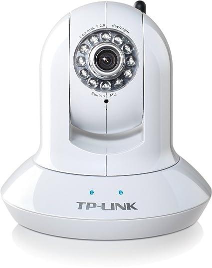 TP-Link TL-SC4171G Wireless Day/Night Pan/Tilt IP Surveillance Camera,  2 4Ghz 54Mbps, 802 11b/g, Night Vision, 640x480 CMOS