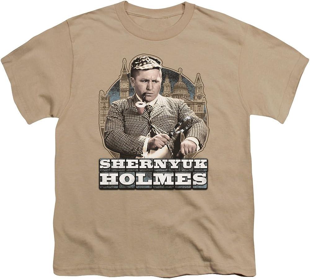 Three Stooges Kids T-Shirt Shernyuk Holmes Sand Tee