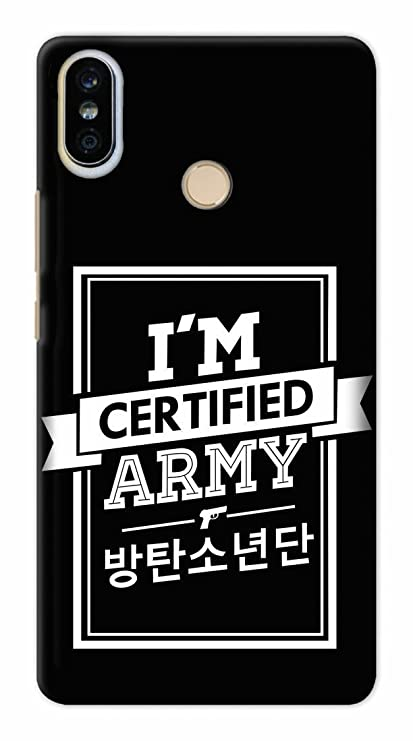online retailer 1a43e 0c362 Zupaco BTS Army Kpop Fan Art Printed Designer Hard Plastic Back Case Cover  for Xiaomi Redmi Note 5 Pro - XIRMIN5PZUPBTSN10012