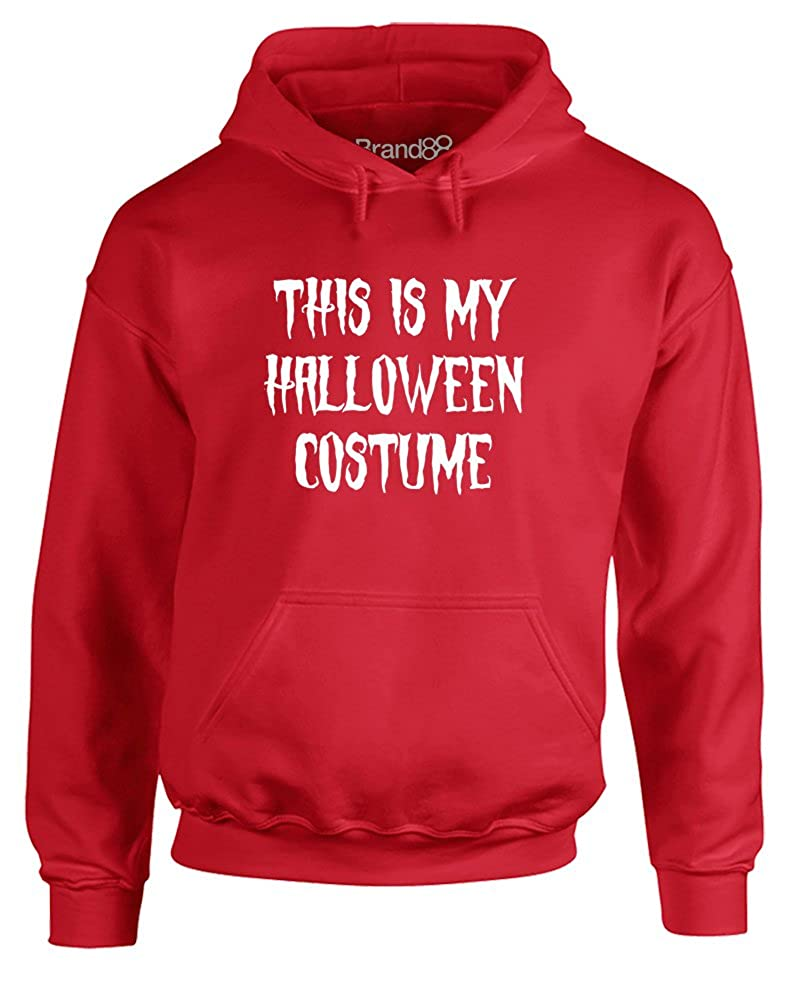 Brand88 - This is my Halloween Costume, Printed Hoodie GD057_AH044