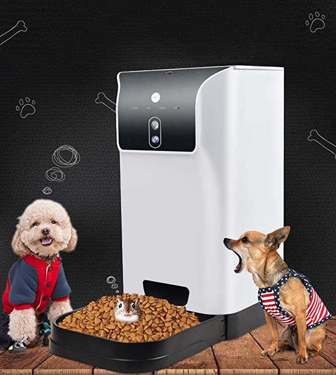 QWER Alimentador automático Inteligente para Mascotas ...