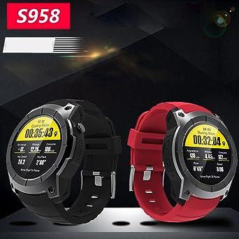 KINJOHI Reloj Inteligente, Impermeable IP68, táctil, pulsómetro ...
