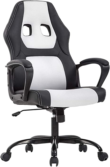 Executive PU Leather Mesh Office Computer Swivel Gaming Chair Office Desk