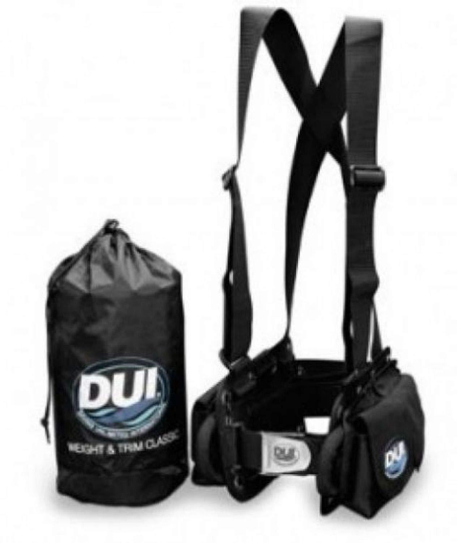 DUI Classic Peso cinturón arnés para Traje seco de Buceo ...
