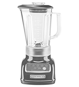 KitchenAid 5-Speed Blender RRKSB1570OB, 56-Ounce, Onyx Black (Renewed)
