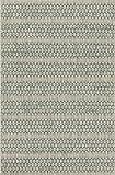 Loloi Rugs ISLEIE-01GYTE2239 Isle Collection Area Rug, Grey/Teal, 2' 2'' x 3' 9''